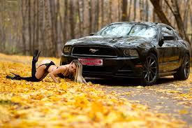 обои женщины модель блондинка женщины с автомобилями