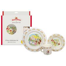 royal doulton bunnykins melamine 3 piece set