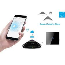 1 gang smart phone app wifi remote control touch light switch