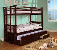 bunk bed with trundle and drawers.  And And Bunk Bed With Trundle Drawers Gothic Cabinet Craft