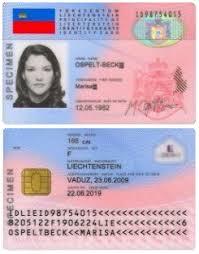Card - Wikipedia Liechtenstein Identity