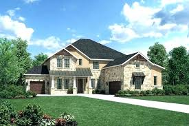 hill country home plans small house