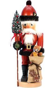 christian ulbricht nutcracker. Christian Ulbricht Nutcracker Santa With Teddy Bear To Christmas Treasures