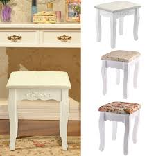 Pine Bedroom Stools Pine Dressing Table Stool Ebay