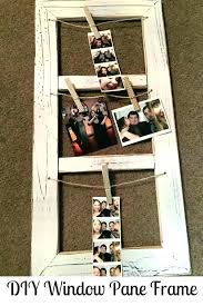 window pane picture frame ideas