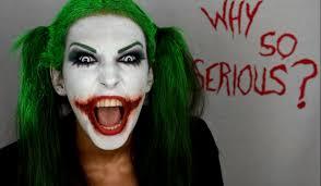 joker makeup for women the joker jack nicholson version makeupbody paint tuto