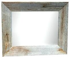 rustic wood picture frames rustic mirror frame mirrors wood framed wall mirrors reclaimed wood mirrors rustic