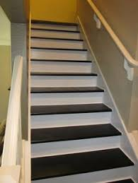 painted basement stairs. Plain Painted Removed Carpet And Painted Stairs To Painted Basement Stairs