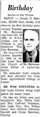Joseph Bateman 1962 - Newspapers.com