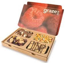 graze snack gift subscription bo