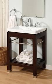 bathroom vanitiy. Delighful Vanitiy 24 Inch Single Sink Square Console Bathroom Vanity With White Ceramic  UVEINY24 Intended Vanitiy
