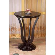 ameriwood home carson end table with storage espresso silver com