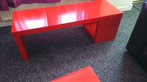 table red coffee table ideas home design for gloss ikea lack high