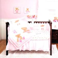 teddy bear crib bedding ballerina crib bedding teddy bear crib bedding set kids line twirling around