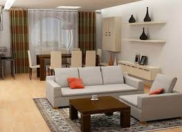 dining table in living room. room · living interior design ideas with dining table in