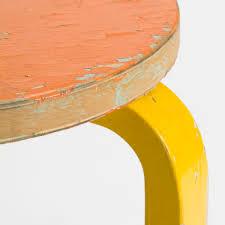 yellow furniture. Stool-60-2Nd-Cycle-Close-Orange-Yellow-1844636 Yellow Furniture