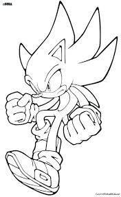 Printable Sonic Coloring Pages Uticureinfo