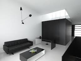 black white home office inspiration. modern minimal home office in black and white design ian moore architects inspiration