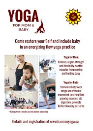 yoga for mom and baby
