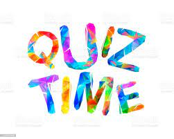 Quiz Time Word Of Triangular Letters Stock Illustration - Download Image  Now - iStock