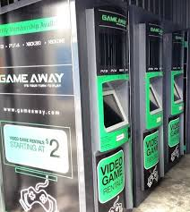 Video Game Vending Machines Gorgeous Game Away Video Game Vending Machines The Redbox Of Video Games