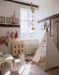 Amazing Kids Room Decor With Tent Also Mini Table Set As Well As Wall Decor  Tips As Inspiring Kids Spare Room Ideas