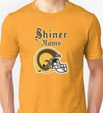 shiner rams 2 uni t shirt