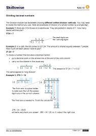 multiplication and division equations worksheets pdf multiplying dividing decimals decimal numbers