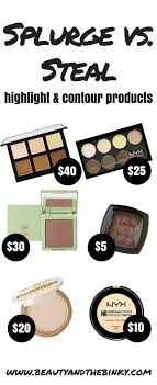 the best contouring makeup for fair skin splurges steals beauty and