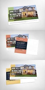 Postcard Collage Template Real Estate Agent Postcard Creative Card Templates Card