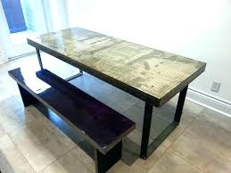 concrete top dining table. Dining Tables: Concrete Top Table Outdoor Outdoo:
