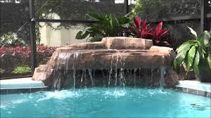 inground pools with waterfalls and slides. Small Grotto Pool Waterfall Swimming Rock Watefall Gallery And Inground Waterfalls Images Pools With Slides A