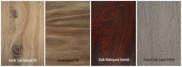 Q  Which types of wood are used in the manufacturing process?
