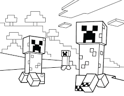 10 Printable Minecraft Coloring Pages Gallery Kids Zone