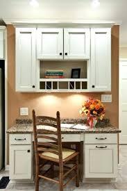 Kitchen office nook Diy Kitchen Yourtechclub Kitchen Desks Built In Creative Kitchen Desk Ideas Built In Office