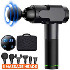<b>Massage Gun Deep Tissue</b> Percussion <b>Muscle</b> Massager for Pain ...