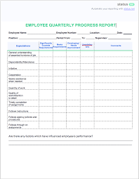 Quarterly Report Formats 2 Easy Quarterly Progress Report Templates Free Download