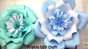 Paper Flower Wedding Backdrops Diy Paper Flower Tutorial My Wedding Backdrop Flowers Giant Paper Flowers Step By Step 2018