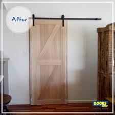 internal sliding solid timber doors