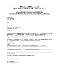 Letter Of Offer Template 44 Fantastic Offer Letter Templates Employment Counter
