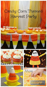 Candy Corn Themed School Harvest Party- Games, Decor, Activities Crafts,  Food &