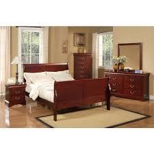 American Lifestyle Louis Philippe II 4 piece Bedroom Set fcc0f7f2 a579 4d7d 83fb 6998b6c00f0a 600
