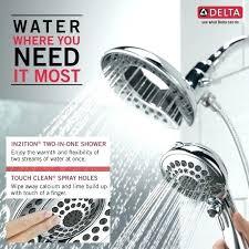 in2ition shower heads delta shower head delta w chrome shower head delta in2ition shower heads reviews