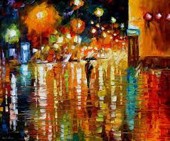 beauty of the rain
