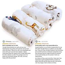 Muslin Swaddle Blankets for Baby Girls and Boys ... - Amazon.com