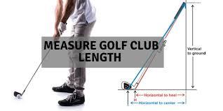 Junior Club Length Chart How To Measure Golf Club Length Man Women And Junior Golfers
