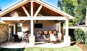 covered patio designs outdoor patio cover and kitchen in spring valley covered patio designs plans
