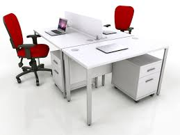 acrylic office furniture. Adorable White Office Furniture With Red Chair And File Storage Acrylic