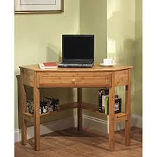 small corner office desk. Desk Design Ideas, Simple Living Corner Small Bamboo Wooden Brown Varnsihed Lacquired White Cup Office E