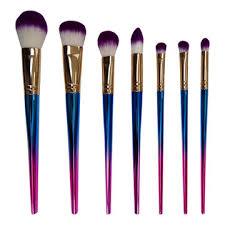 china makeup brushes set 7pcs beauty cosmetic professional make up tools foundation powder brushes kit
